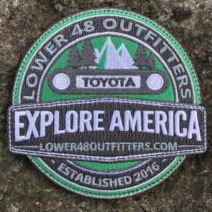 Explore America FJ Cruiser Patch