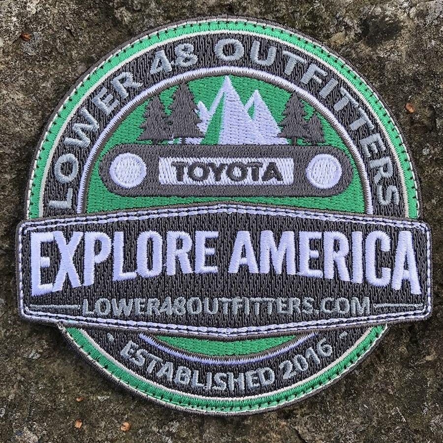 Explore America FJ Cruiser Patch
