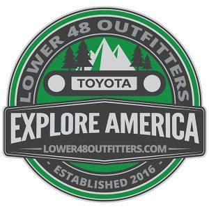 Explore America Sticker