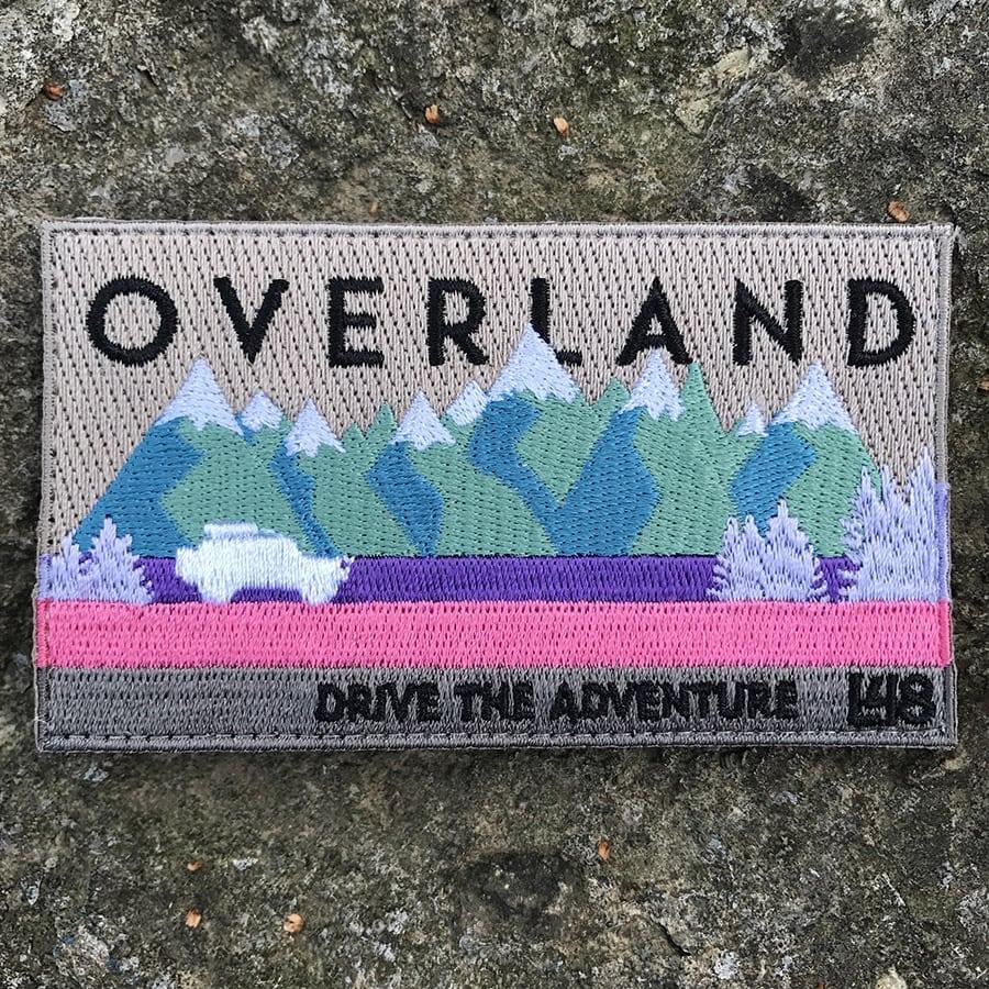 Overland Drive the Adventure FJ Cruiser Patch