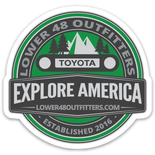 Explore America Sticker
