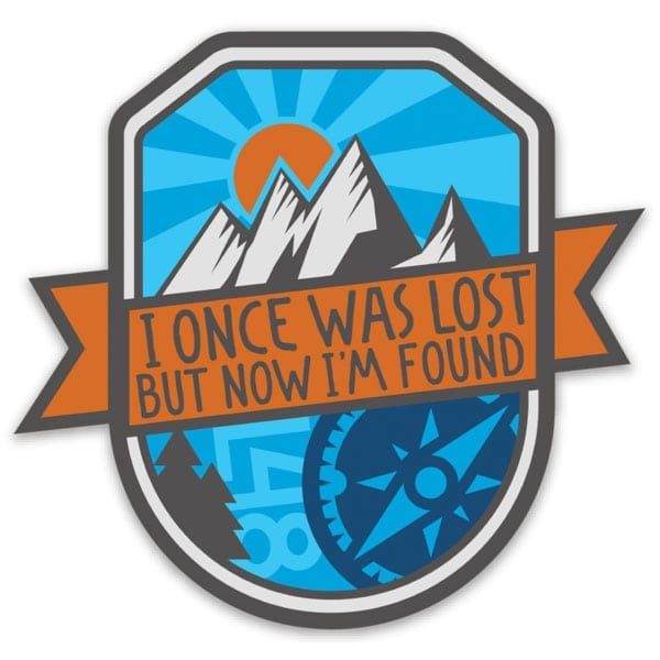 Lost and Found Spring Sticker