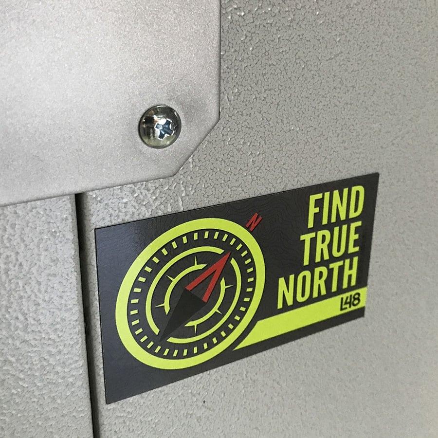 Find True North Magnet