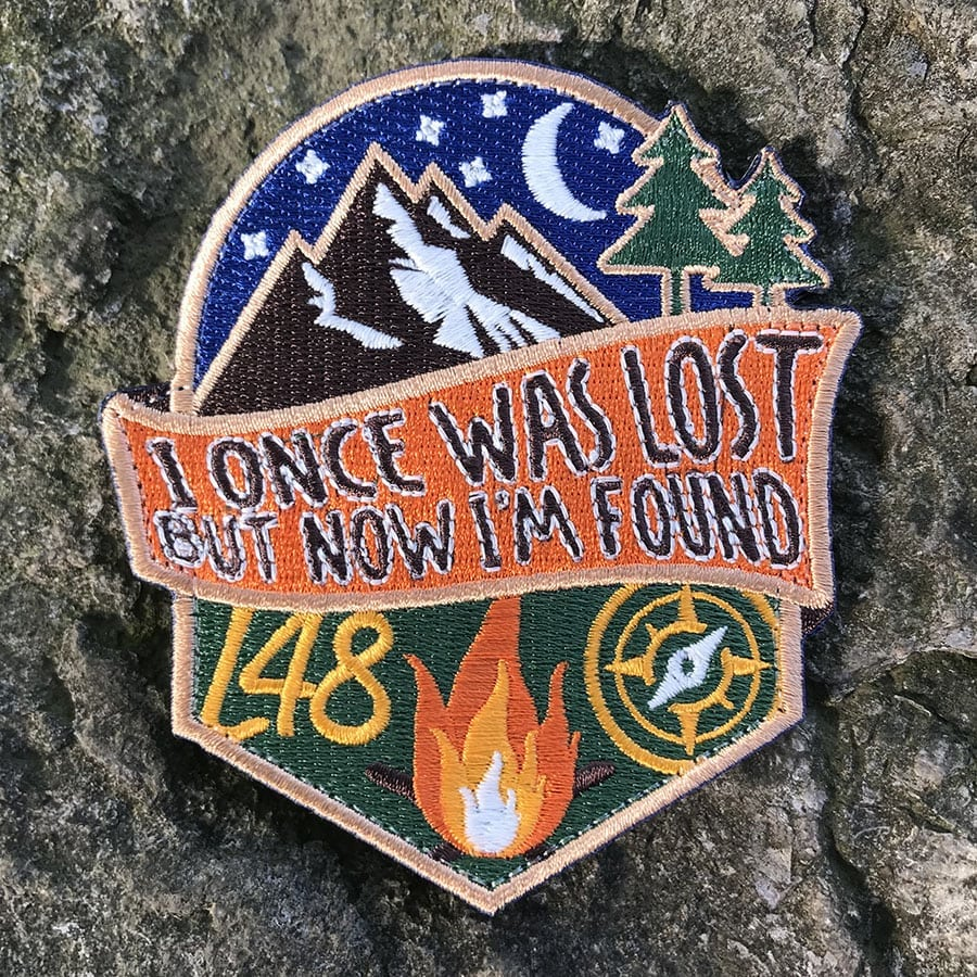 Lost and Found Fall Starlight Glowing Patch