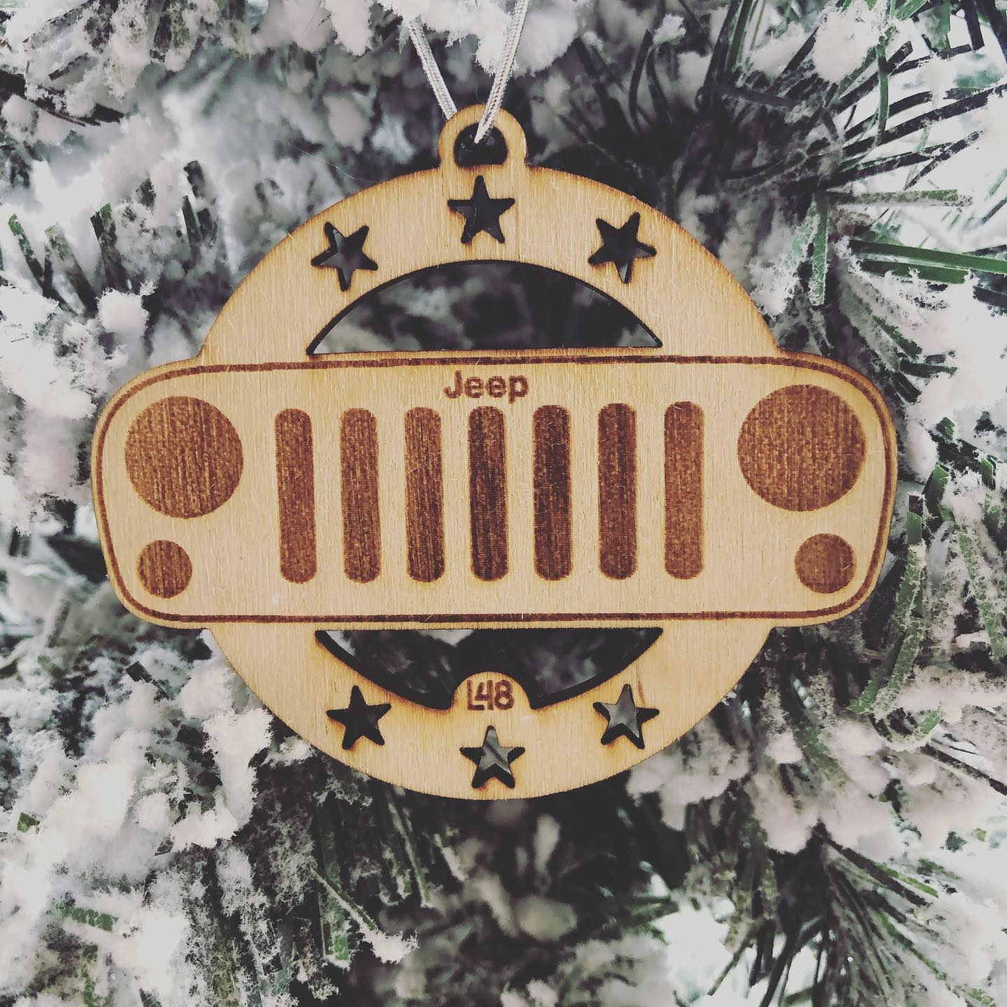 It's a Jeep Christmas Thing. Only made 6 of them. Will send today with tracking, hopes and prayers. Cheers!  . . . . . . #Jeep #JeepThing #Christmas #StockingStuffer #JeepLife #JeepWrangler #Overland #Offroad #JeepGladiator