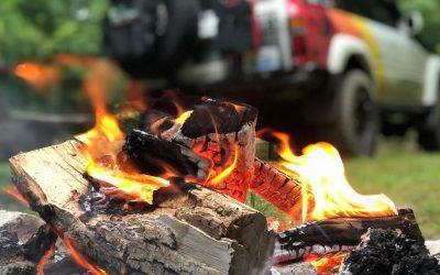 Campfires and Land Cruisers. #Fav